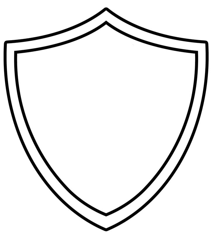Clipart shield shape graphic black and white Free Shield Images, Download Free Clip Art, Free Clip Art on Clipart ... graphic black and white