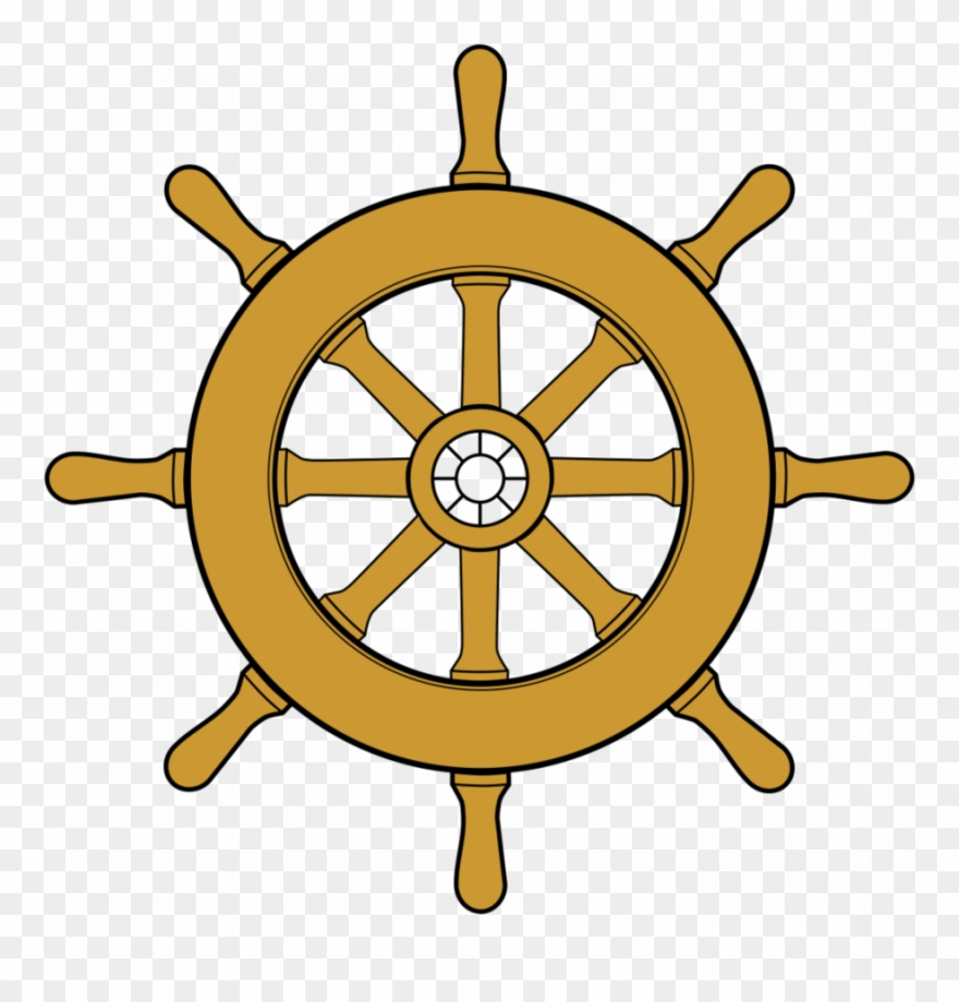 Clipart ship steering wheel clip royalty free library Boat Wheel Clipart Ship\'s Wheel Dharmachakra Clip Art - Boat ... clip royalty free library