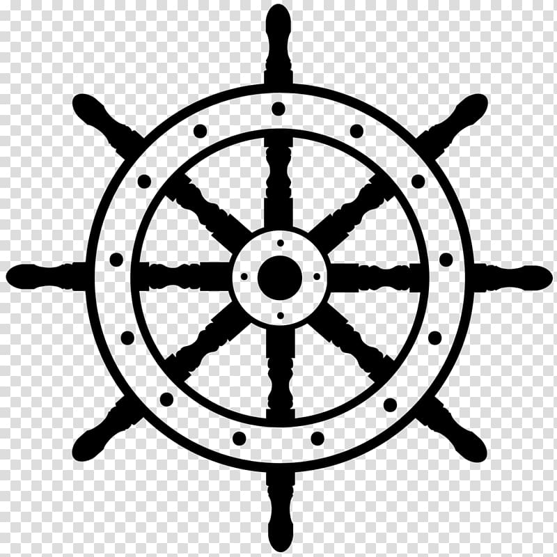 Clipart ship steering wheel jpg transparent stock Ship\\\'s wheel Boat , steering wheel transparent background PNG ... jpg transparent stock