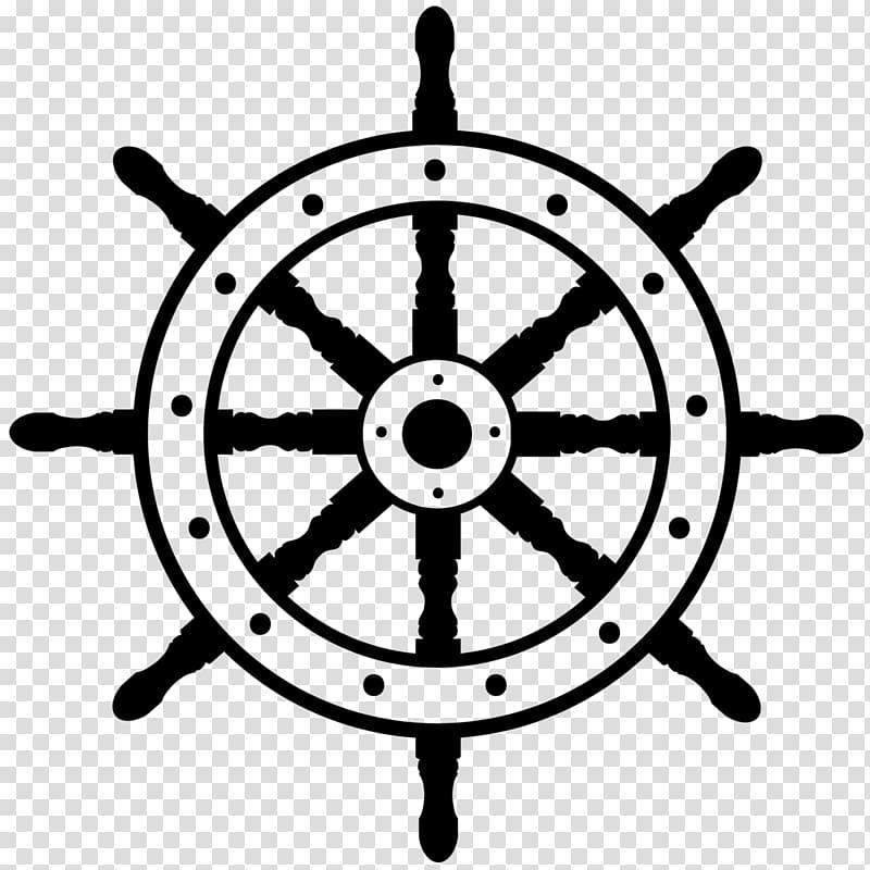 Clipart ship steering wheel jpg transparent stock Ship\\\'s wheel Boat , steering wheel transparent background PNG ... jpg transparent stock