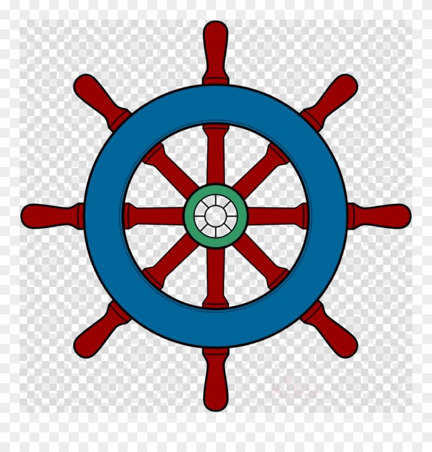 Ship wheel clipart