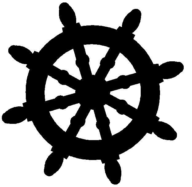Captains wheel clipart vector freeuse free silhouette ships wheel clipart - Google Search | SVG Files ... vector freeuse