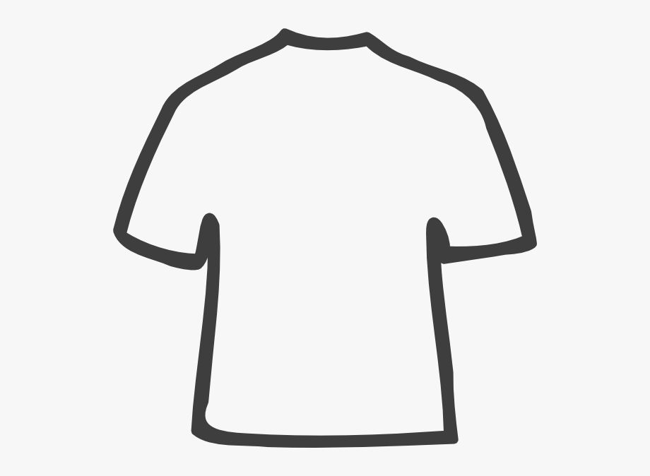 Tshirt Clipart Shirt Outline - Tee Shirt Outline Png #98501 - Free ... banner stock