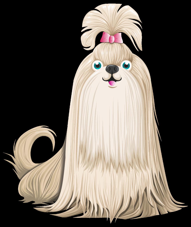 Clipart shitzu picture free library ftestickers clipart dog shitzu cute... picture free library