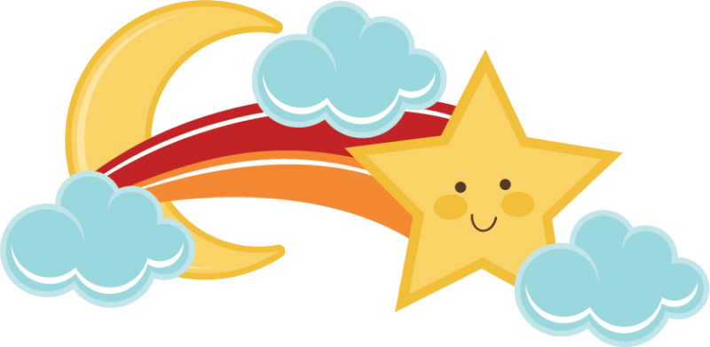 Shooting Stars Cute Clipart clipart freeuse download