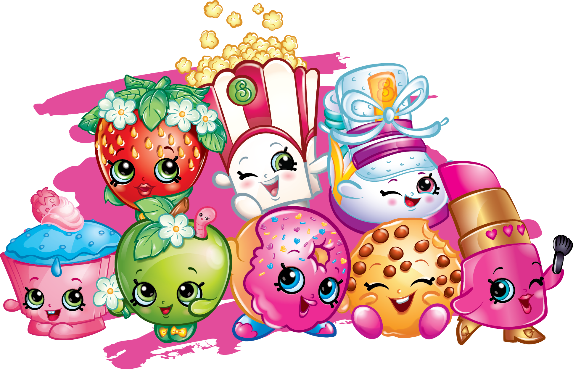 Shopkins clipart transparent background image free download shopkins | Pinterest | Shopkins, Birthdays and Birthday party ideas image free download