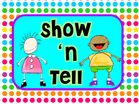 Clipart show and tell image transparent library Show \'n tell - day 1 • Teach123 image transparent library