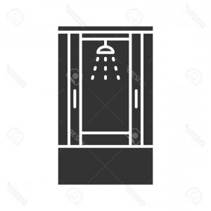 Clipart shower stall realistic black and white png download Shower Cabin Transparent Realistic D Collection | Savoyuptown png download