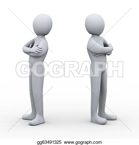Clipart showing conflict picture black and white library Clipart showing conflict - ClipartFest picture black and white library