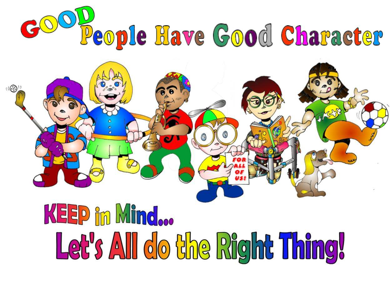 Clipart showing good character traits banner freeuse stock Good character clipart - ClipartFest banner freeuse stock