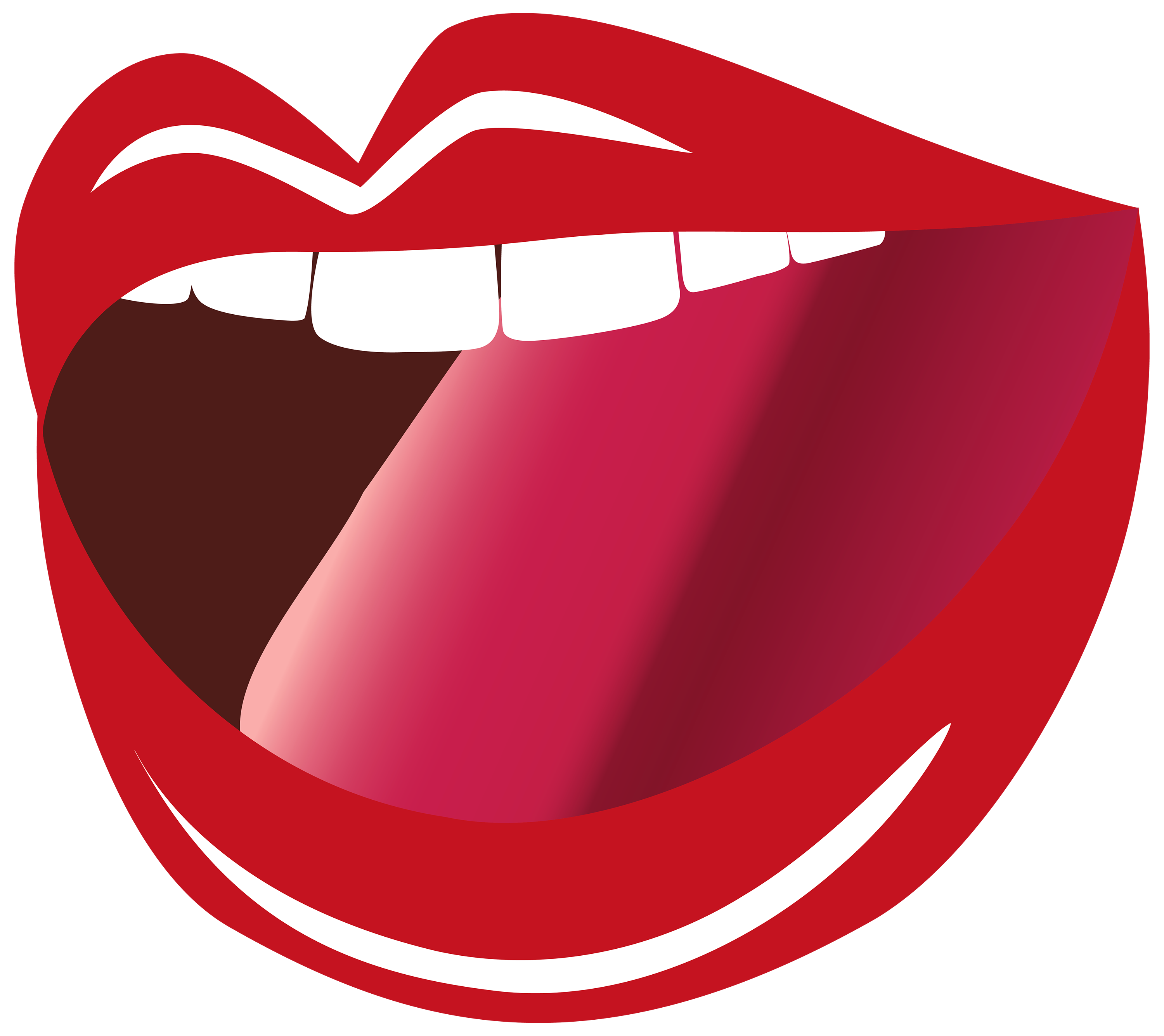 Clipart showing profile view of mouth speaking vector freeuse library Talking Mouth Cliparts | Free download best Talking Mouth Cliparts ... vector freeuse library