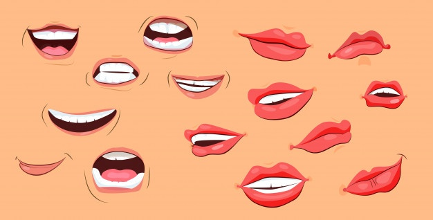 Clipart showing profile view of mouth speaking jpg royalty free Mouth Vectors, Photos and PSD files | Free Download jpg royalty free