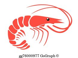 Clipart shrimp svg transparent download Shrimp Clip Art - Royalty Free - GoGraph svg transparent download