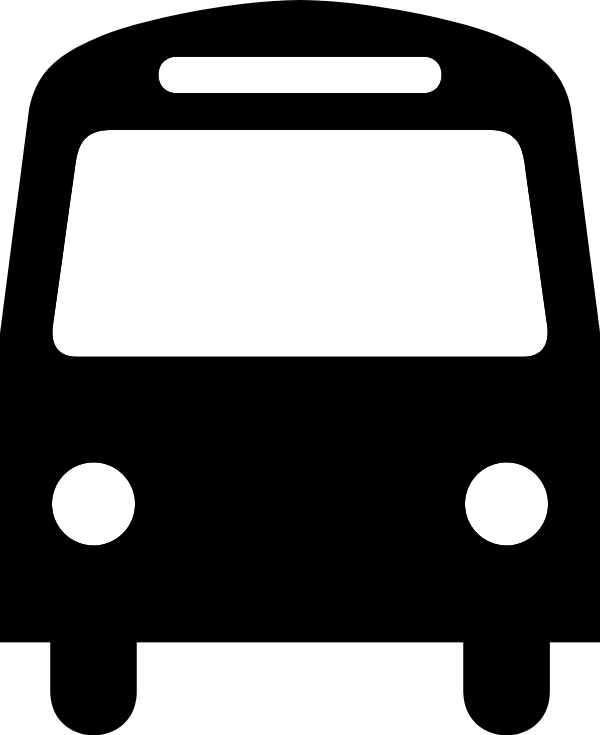 Clipart shuttle bus image black and white library Shuttle Bus Clipart - Clip Art Library image black and white library