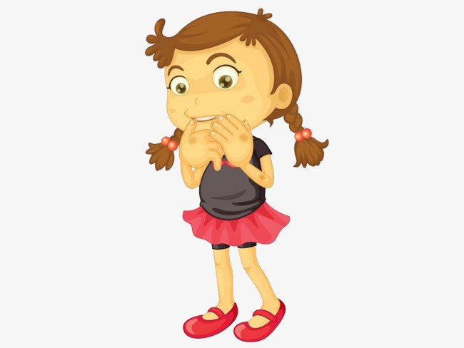 Clipart shy girl picture free stock Shy girl clipart 8 » Clipart Portal picture free stock