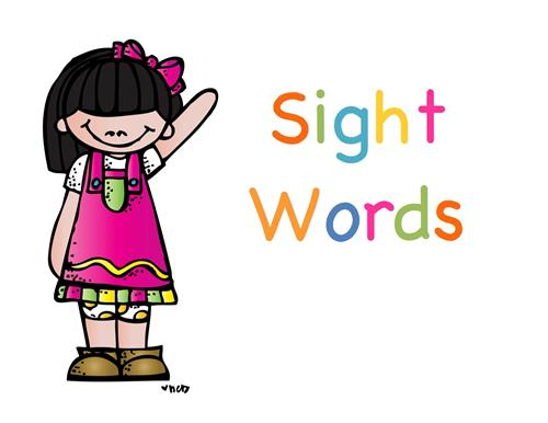 Clipart sight words svg royalty free download Craig, Gina / Sight Words svg royalty free download
