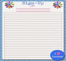 Clipart sign in sheet vector free library Sign up sheet clip art - ClipartFox vector free library