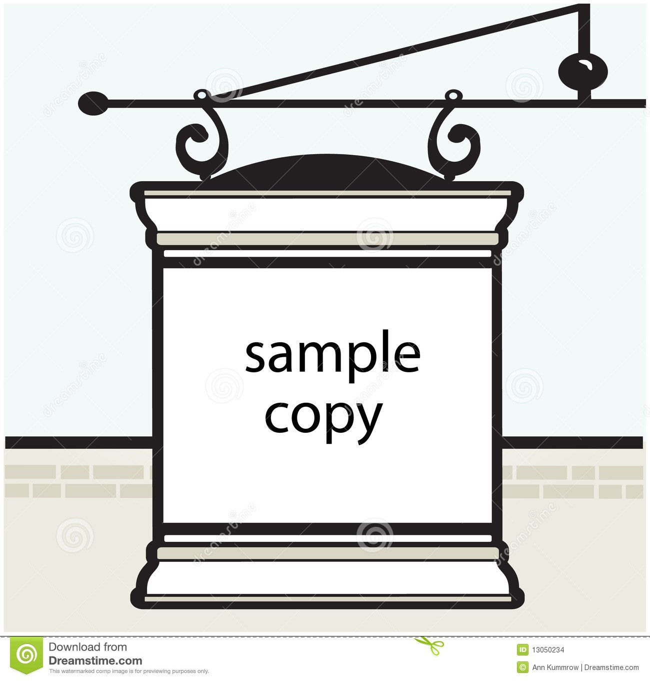 Clipart sign in sheet jpg transparent stock Template Sign. paper table card sign template royalty free stock ... jpg transparent stock