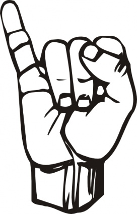 Clipart sign language image stock Clip Art Sign Language Words Clipart image stock