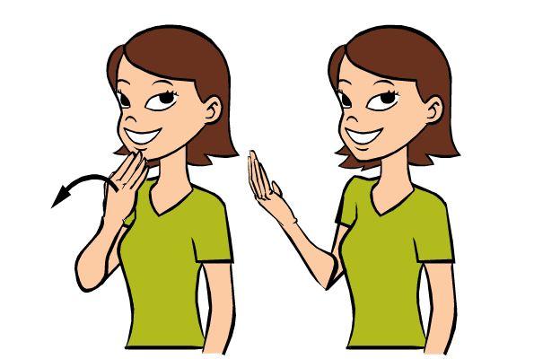 Clipart sign language jpg transparent Sign language clipart gif - ClipartFest jpg transparent