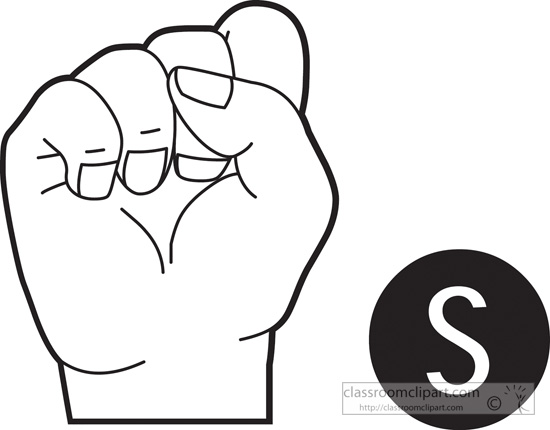 Clipart sign language clip library library Sign language clipart letter a - ClipartFest clip library library