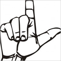 I Love You Sign Language Clipart | Clipart Panda - Free Clipart Images clip art library library