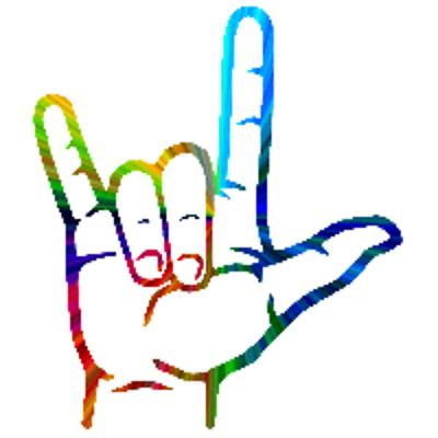 Clipart sign language i love you - ClipartFest free