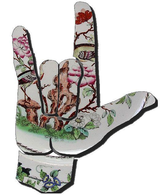 I Love You Sign Language Clip Art | ASL Clip Art 5-4 I Love You ... clipart free