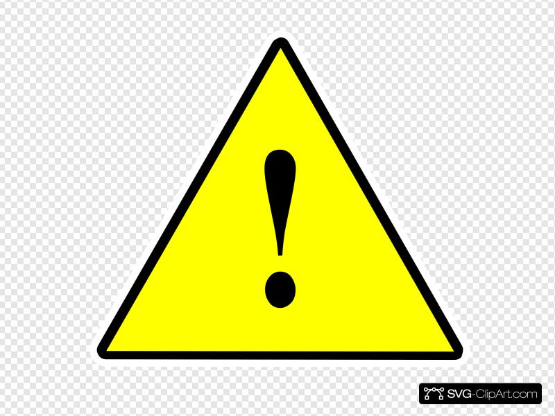 Clipart significant svg free stock 1 Significant Risk Solid Yellow Clip art, Icon and SVG - SVG Clipart svg free stock