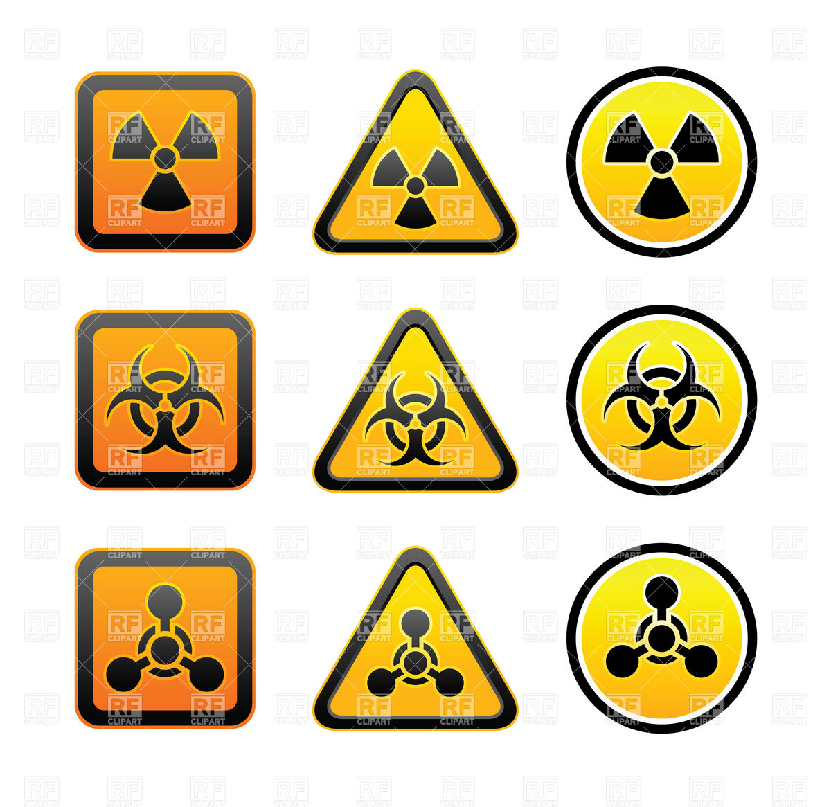 Clipart signs and symbols clip royalty free download Clipart Catalog Signs Symbols Maps Warning Symbols Radiation ... clip royalty free download