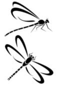 Free clipart dragonfly silhouette clip art freeuse Dragonfly Silhouette | Clipart Panda - Free Clipart Images clip art freeuse