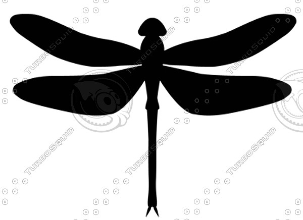 Free clipart dragonfly silhouette image black and white library Dragonfly Silhouette | Free download best Dragonfly Silhouette on ... image black and white library
