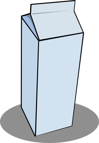 Clipart silhouette gallon quart pint graphic library download Quart Of Milk Clipart - Free Clipart graphic library download