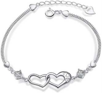 Clipart silver bracelets price graphic library Bracelets For Girls - Buy Bracelets For Girls online at Best Prices ... graphic library