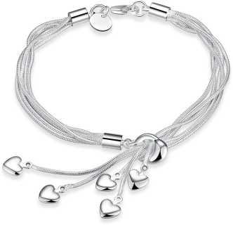Clipart silver bracelets price clip library library Bracelets For Girls - Buy Bracelets For Girls online at Best Prices ... clip library library