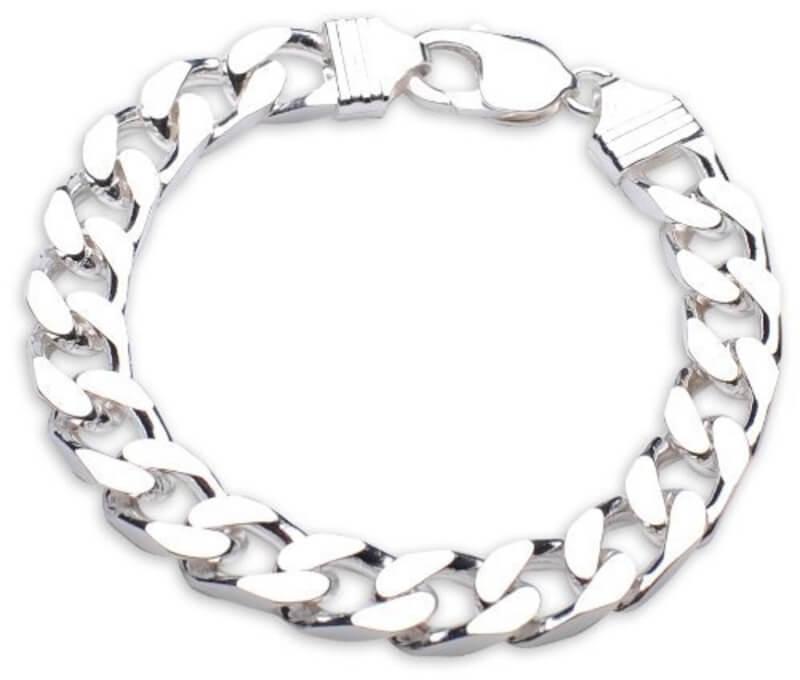 Clipart silver bracelets price jpg free download Mens 8 inch heavy Sterling Silver Curb Bracelet jpg free download