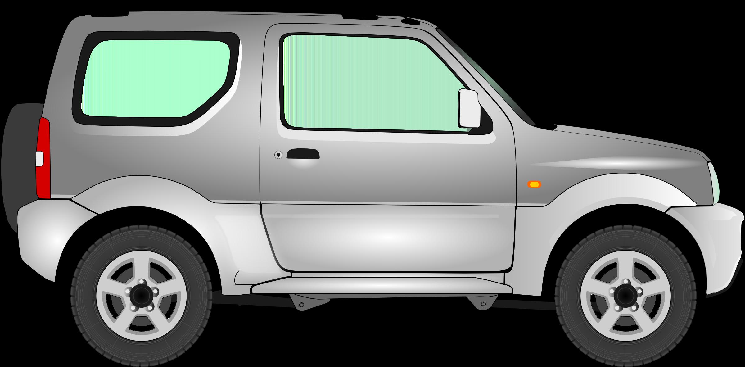 Clipart - Car 15 (silver) clip art royalty free stock