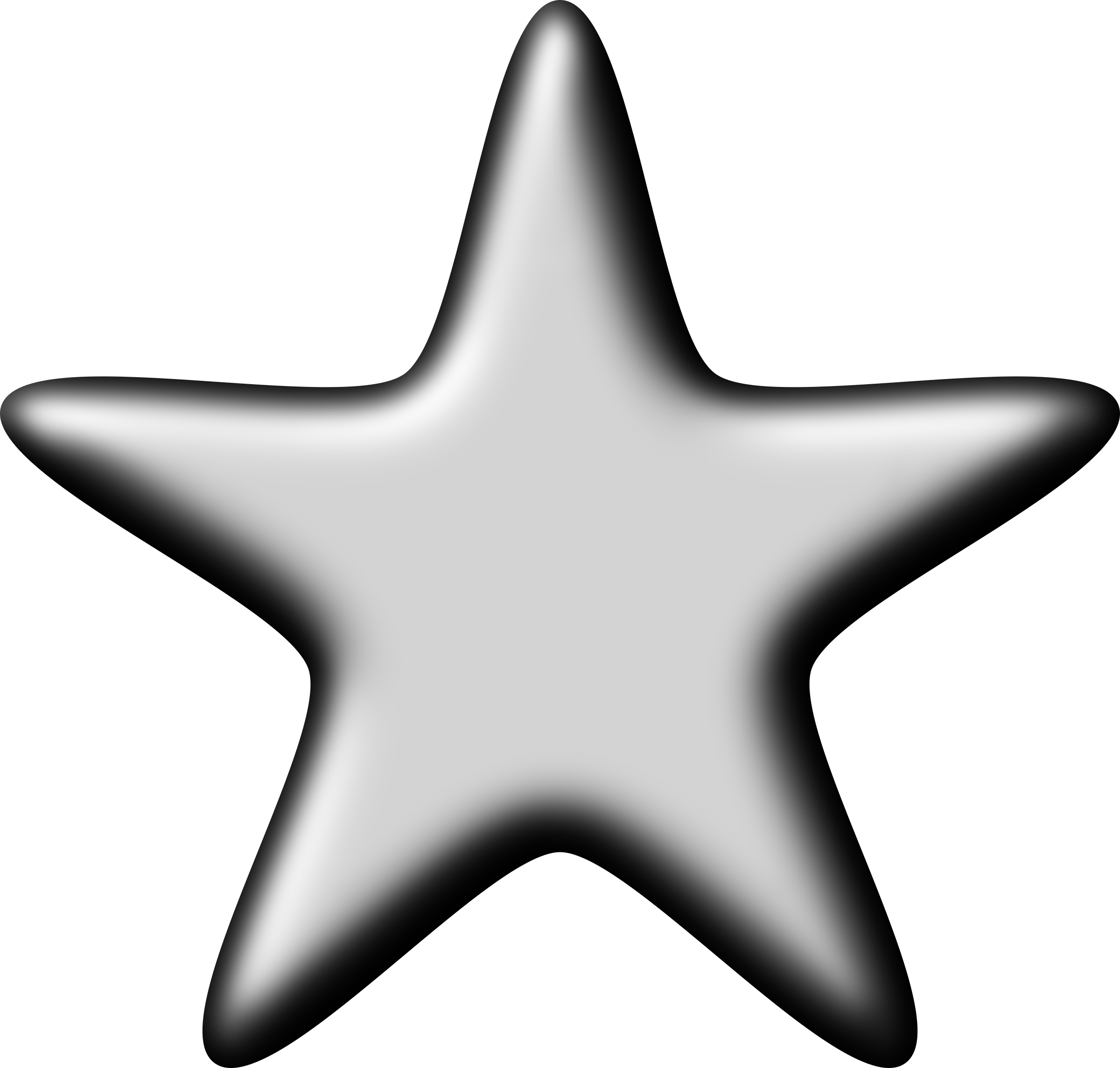 Clipart silver star clip royalty free stock Clipart - 3D Silver Star clip royalty free stock