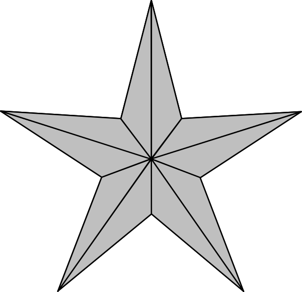 Clipart silver star png library download Silver Star Clipart | Clipart Panda - Free Clipart Images png library download