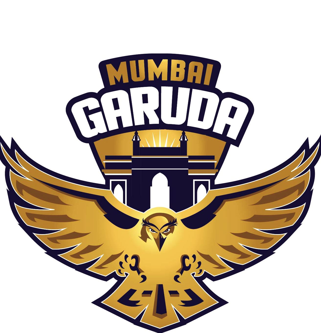 Clipart silvostyle png black and white Mumbai Garuda to represent City in inaugural Triple World Champion png black and white