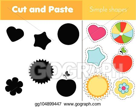 Matching game clipart clip art freeuse stock EPS Illustration - Shadow matching game for toddlers. learning ... clip art freeuse stock