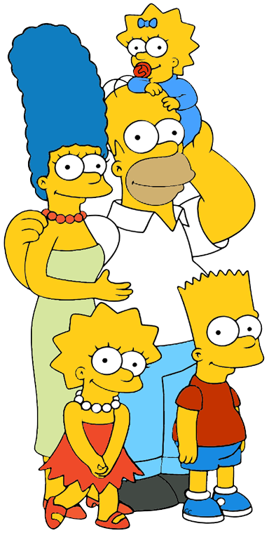Clipart simpson gratuit transparent download The Simpsons Clip Art Images - Cartoon Clip Art transparent download