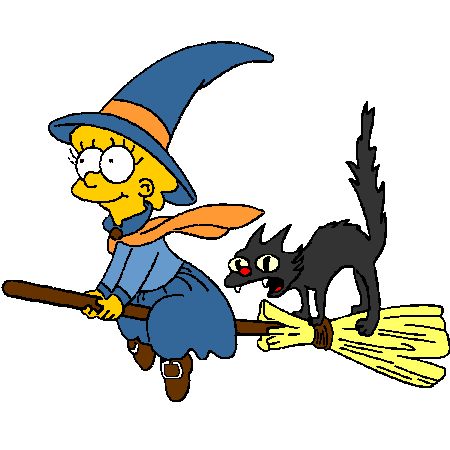 Clipart simpson gratuit svg stock HALLOWEEN SIMPSON : Coloriage Halloween Simpson en Ligne Gratuit a ... svg stock