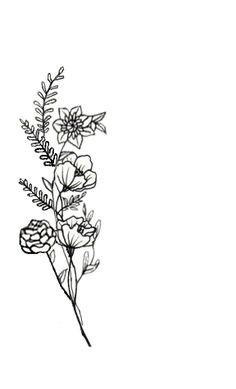 Three simple flowers clipart tatto clip library 166 Best Tiny flower tattoos images in 2018 | Ankle tattoos, Small ... clip library