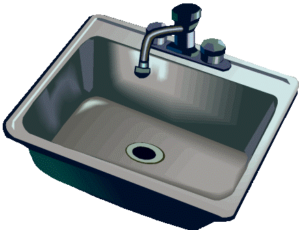 Sink clipart image stock Sink kitchen faucet clipart clipartfest - ClipartPost image stock