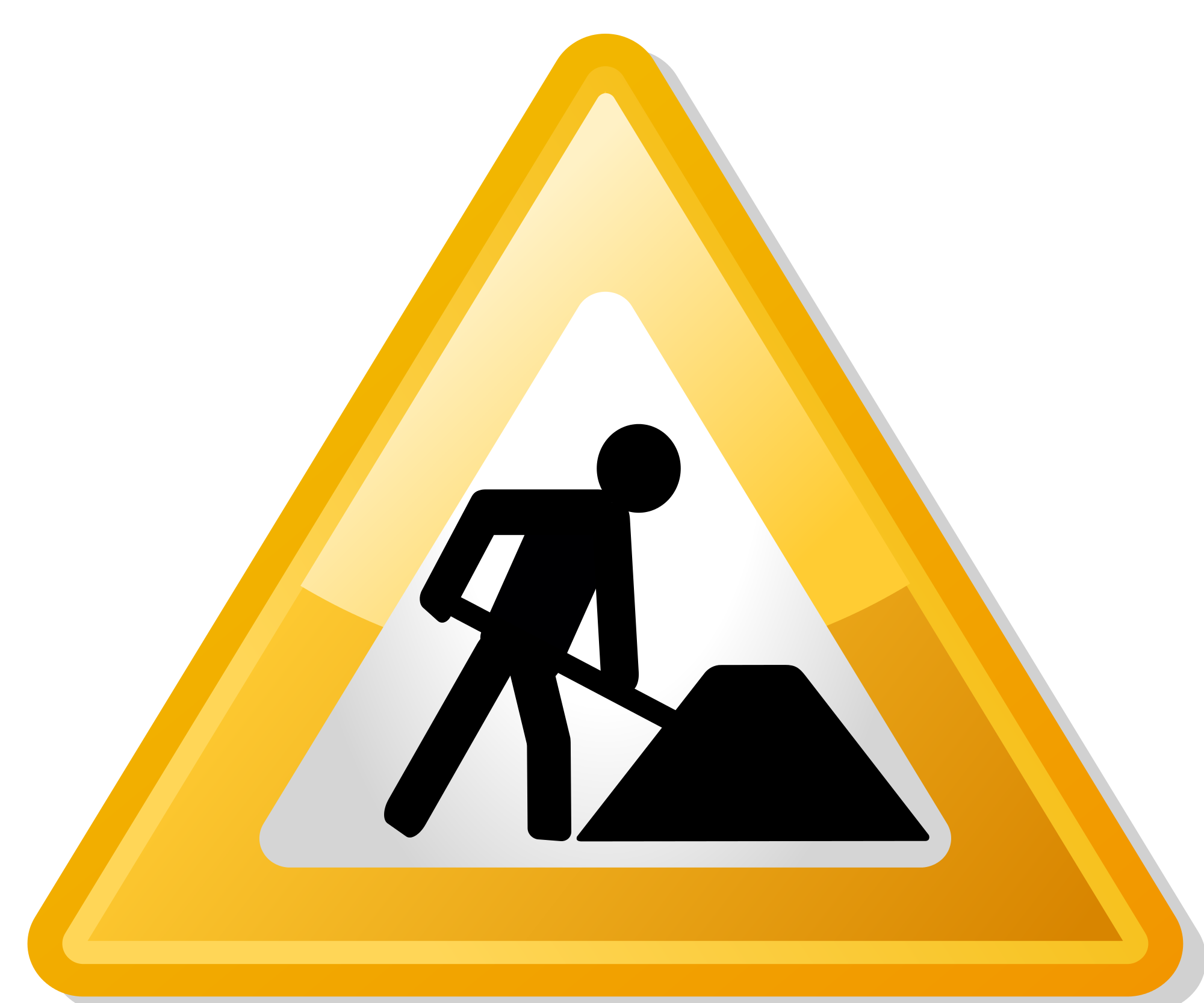 Clipart site en construction free stock File:Under construction icon-yellow.svg - Wikimedia Commons free stock