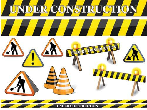 Clipart site en construction png black and white Free Construction Clip Art | ... Construction Signs Clip Art ... png black and white