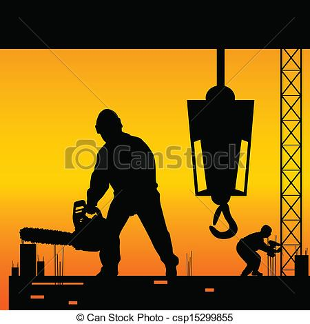 Clipart site en construction png library Construction Site Vector Clip Art Free – Clipart Free Download png library