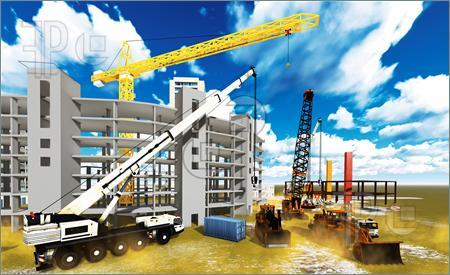 Clipart site en construction image black and white download Construction site | Clipart Panda - Free Clipart Images image black and white download