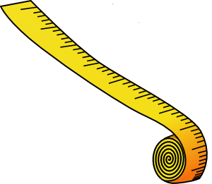 Clipartfest measuring tape clip. Clipart size